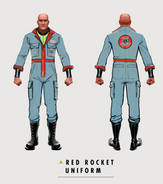 Art of Fo4 Red Rocket uniform