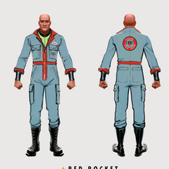 Red Rocket uniform