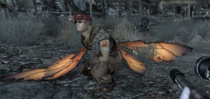 Boone con alas de cazador