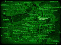FO4 Кабинет руководителя «Масс фьюжн» (карта мира)