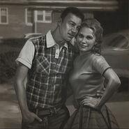 FO76 Jeff Nakamura and Amy Kerry