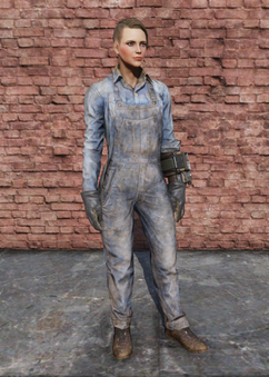 FO76 Steel Worker Uniform Female
