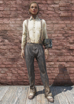 FO76 Suspenders and Slacks