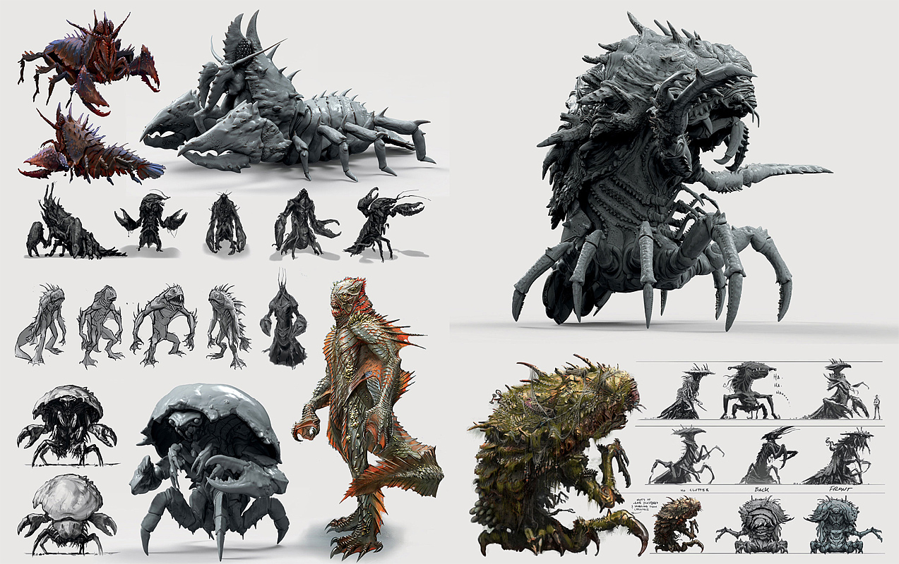 Fallout 76 Creature Concept Art