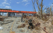 Fo4 super mutants and prisoner