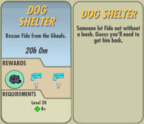 FoS Dog Shelter card