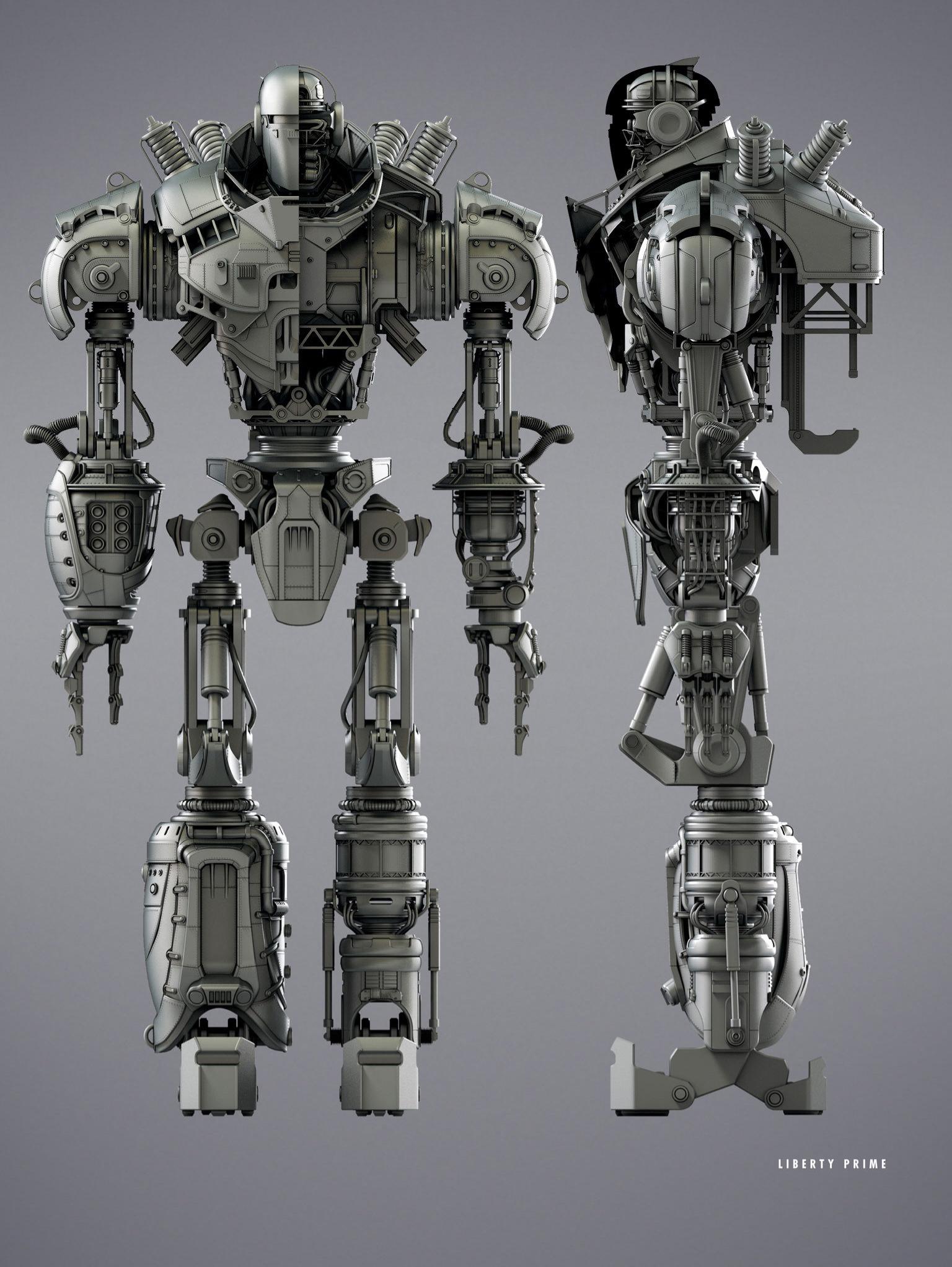 Liberty Prime profile