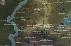 Charleston Landfill map