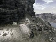 FNV Guardian Peak trail beginning