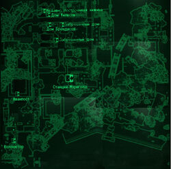 FO3 Marigold Station loc map