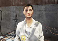 FO4 Professor Scara Portait