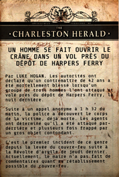 FO76 Mort suspecte à Harpers Ferry