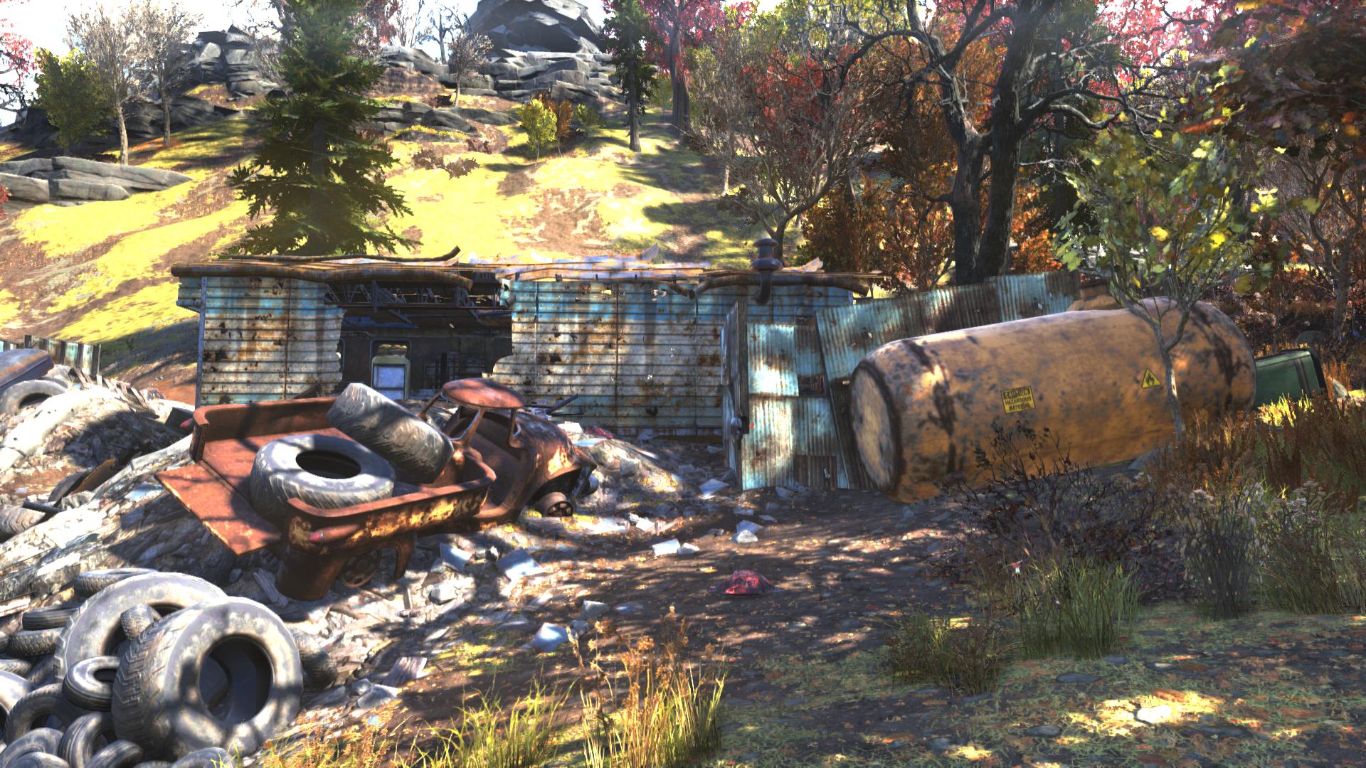 FO76 safecracker's shack exterior