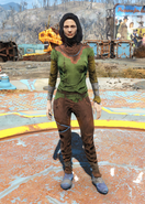 Fo4ColorfulLightGreenUndergarments female