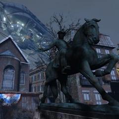 Пам'ятник Підлозі Ревиру, одному з найбільш уславлених героїв Американської революції.
