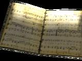 Libro de partituras