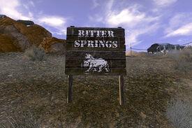Wejscie bitter springs