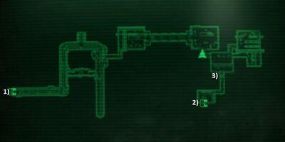 Карта підземелля Пітта