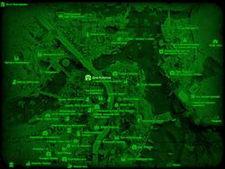 FO4 Дом Кэботов (карта мира)