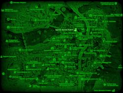 FO4 Здание «Бостон бьюгл» (карта мира)