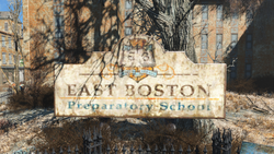 FO4 East Boston Preparatory School logo