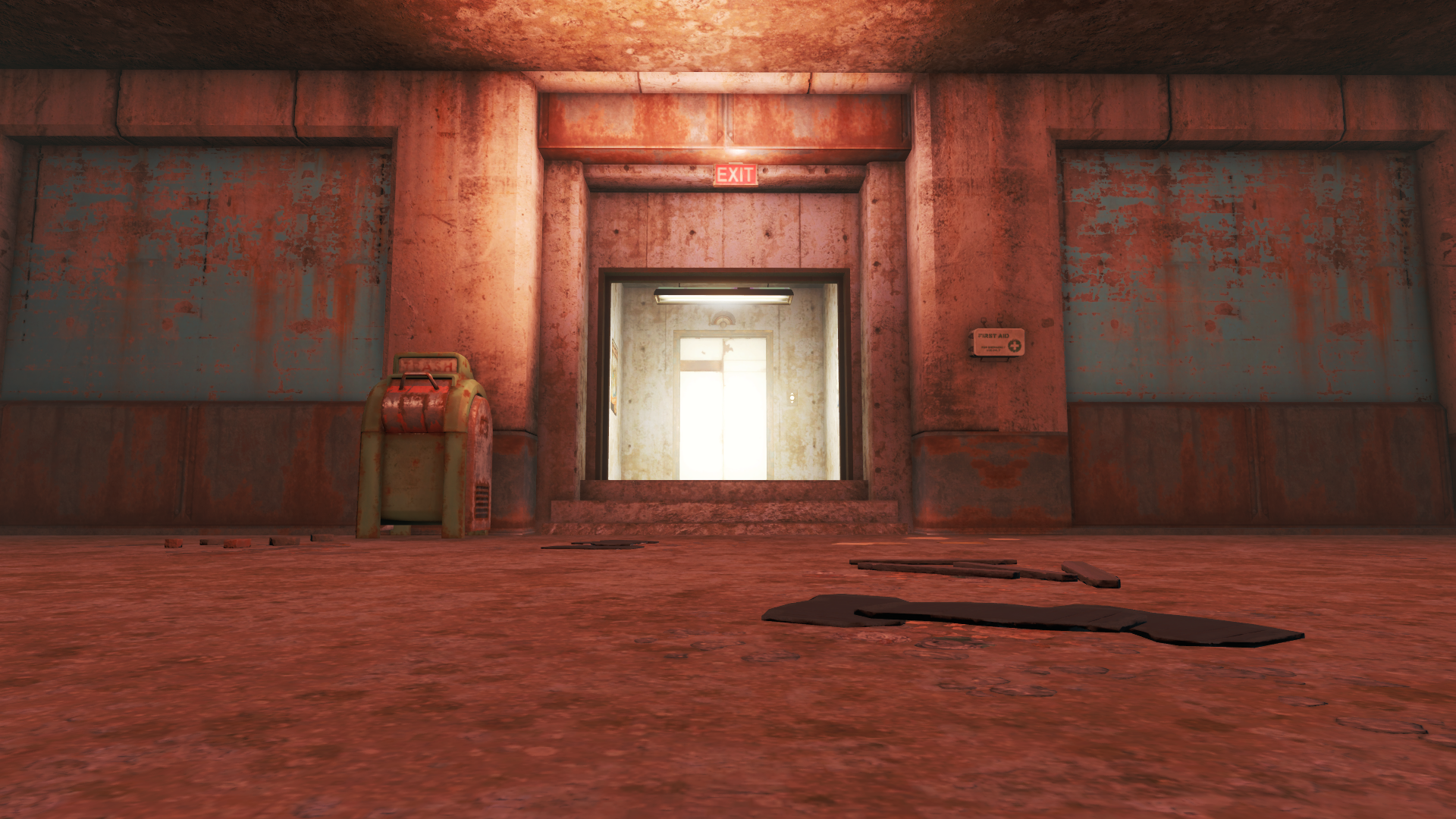 image fo4 parking garage elevator fallout wiki fandom Parking Elevator Lift fo4 parking garage elevator
