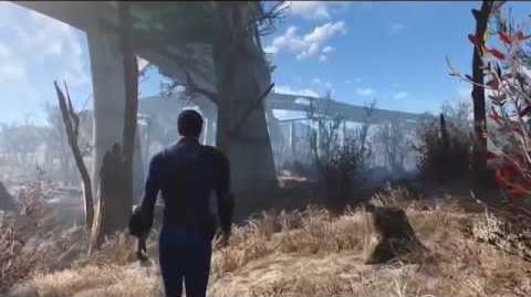 Fallout 4 - Microsoft E3 Press Conference Gameplay Demo