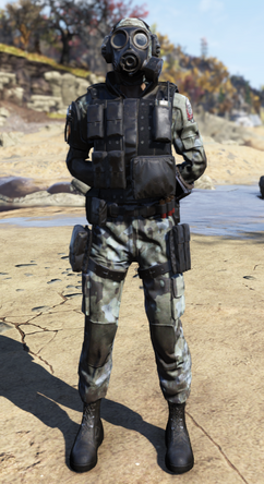 Fallout 76 Brotherhood Special Ops Suit with Mask