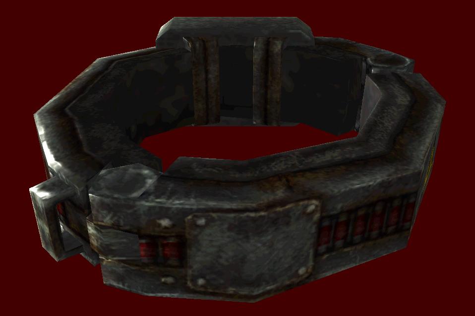 Dead Money Collar Slave Collar