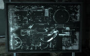 X-8 TF cyberdog schematics on blackboard