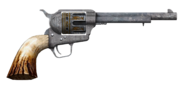 .357 magnum revolver with long barrel and HD cylinder