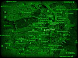 FO4 Старое кладбище Гранари (карта мира)