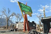 FO4 Fiddlers Green main sign