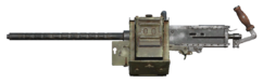 FO76 50 cal machine gun heavy barrel