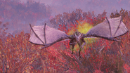 Fallout 76 Scorchbeast flying 2