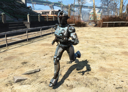 Fo4 Iron Maiden Easy City Downs