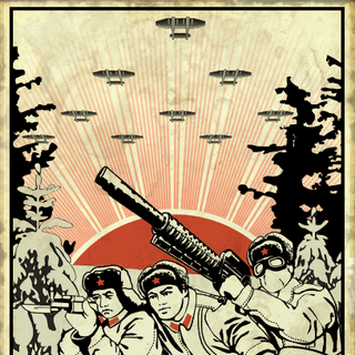 Плакат з <i>Operation: Anchorage</i> з такою ж підписом