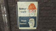 FO4 Concord Factory plakat
