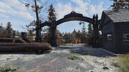 FO76 Fort Defiance (entrance)