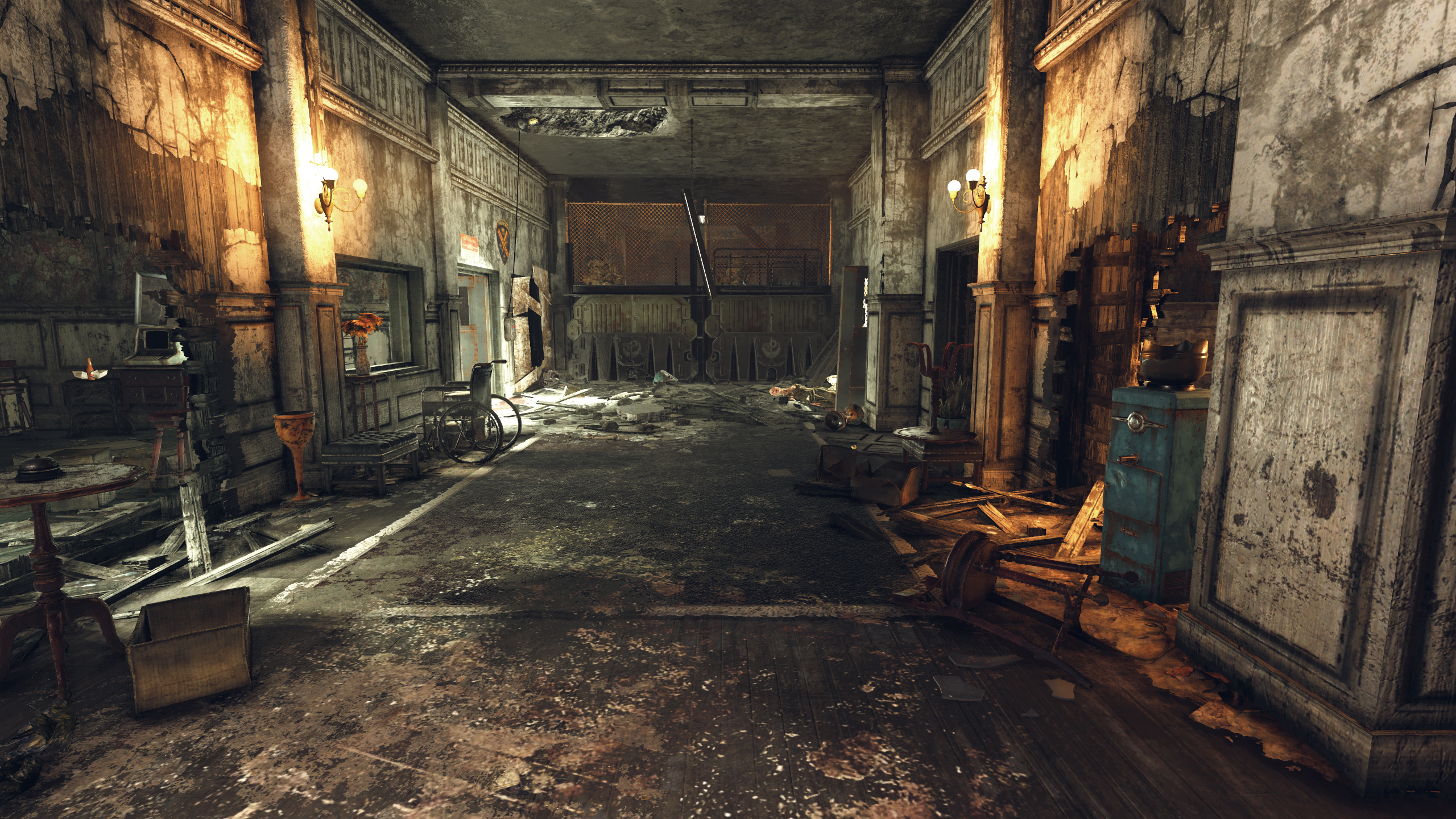 FO76 Fort Defiance (main hall)