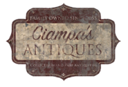 Fo4 Ciampa's Antiques sign