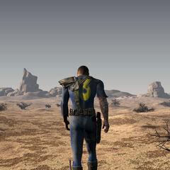 Броньований комбінезон Сховища 13 <i>Fallout</i>.