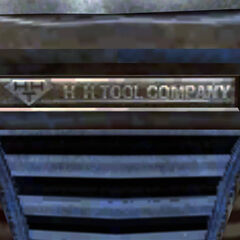 H&H Tool Company plate on PDQ-88b securitron