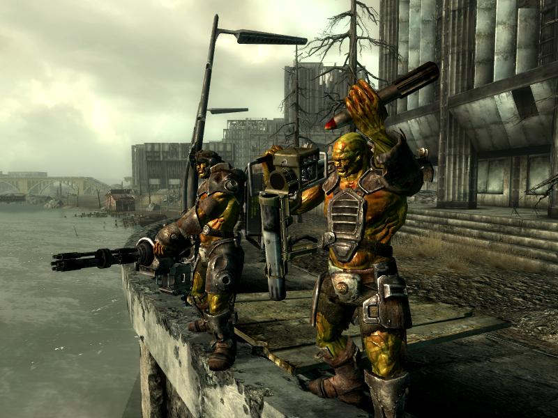 Capital Wasteland Super Mutant Conflict Fallout Wiki Fandom
