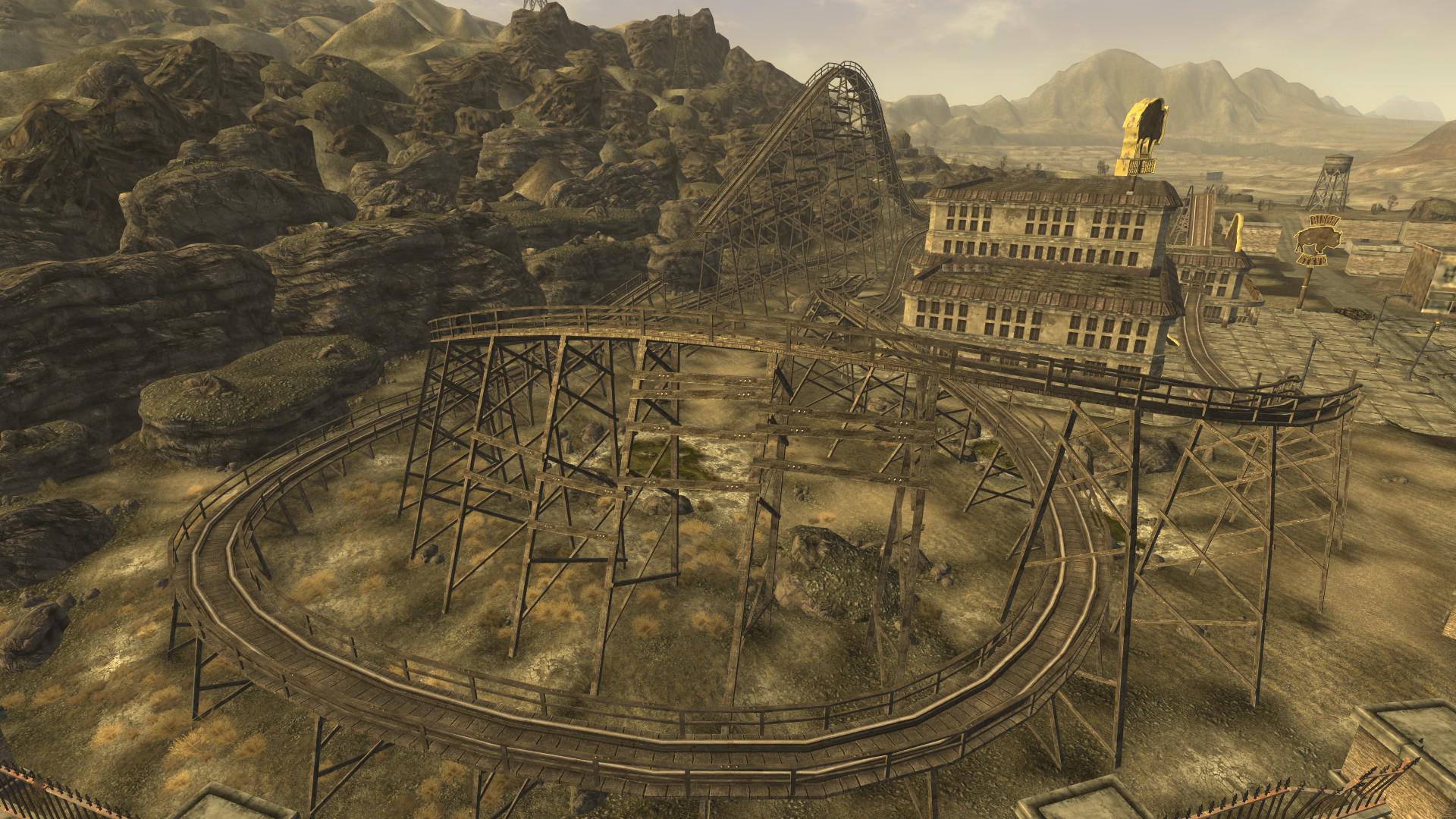 Bison Steve rollercoaster