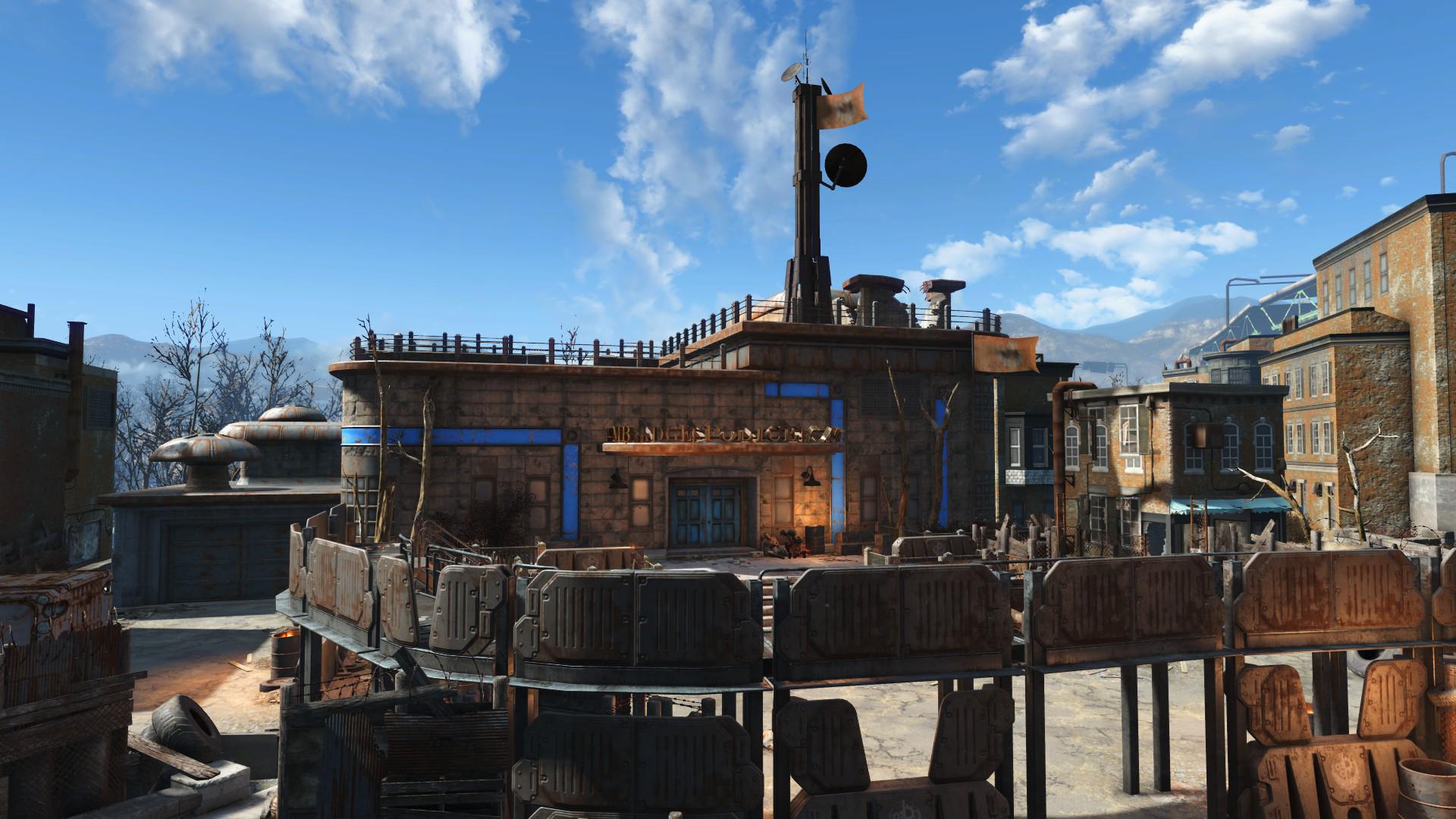 Fallout  Apartment Building Railroad