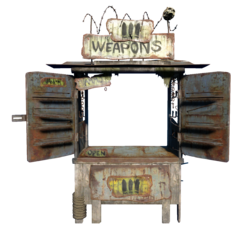 FO4NW Weapons Dealer