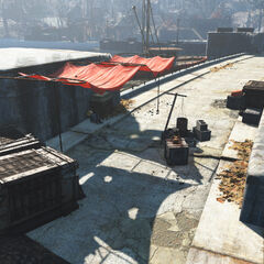 Лагер на дамбі