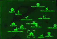 FO4 map Gorski Cabin