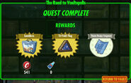 FoS The Road to Vaultopolis rewards